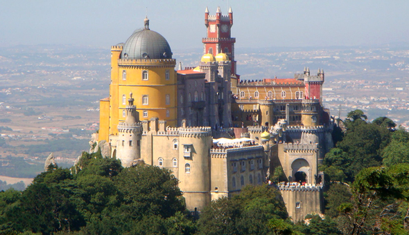 http://en.wikipedia.org/wiki/Pena_National_Palace
