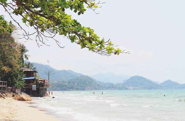 Southeast Asia vacation beach