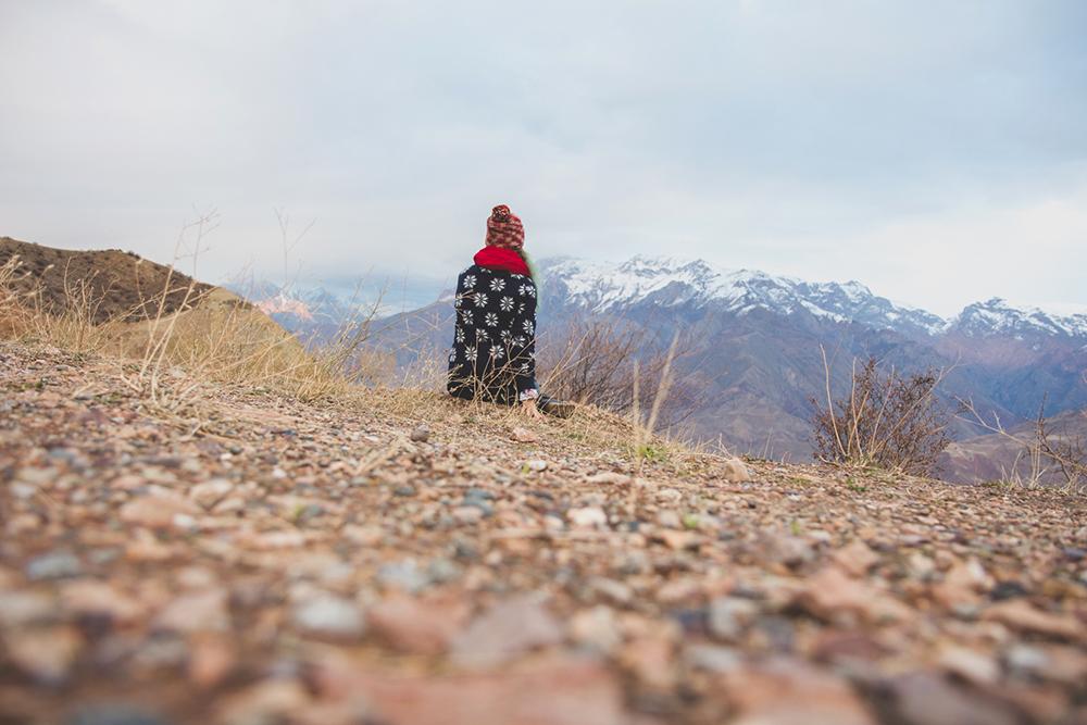 me in Tajikistan