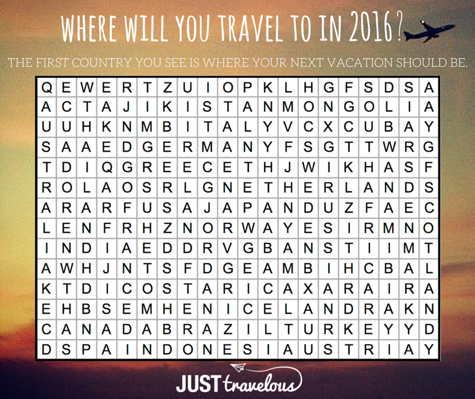 where will you travel to in 2016_3