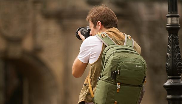 pacsafe camera backpacks