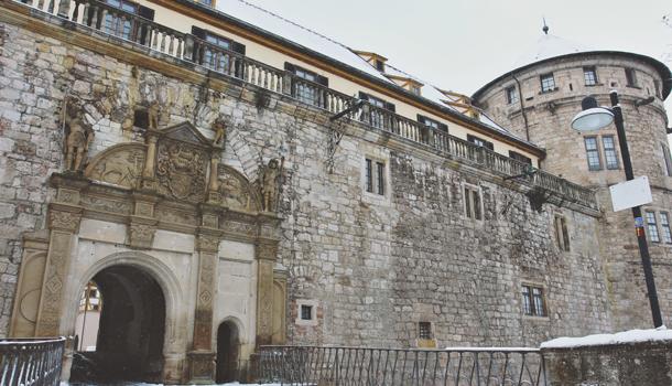 German Castle- Hohentübingen Castle
