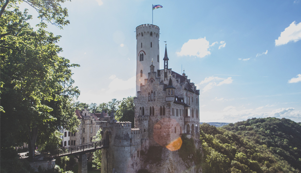 Lichtenstein Castle - German Castles