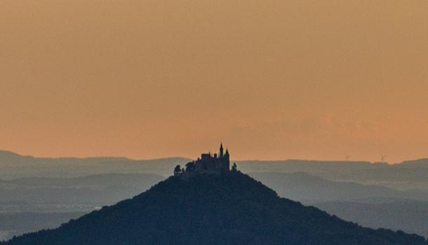 Hohenzollern Castle Burg - German Castle