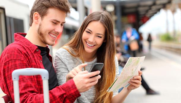 Using smartphone overseas