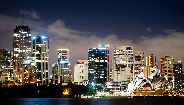 sydney - nighttime photography