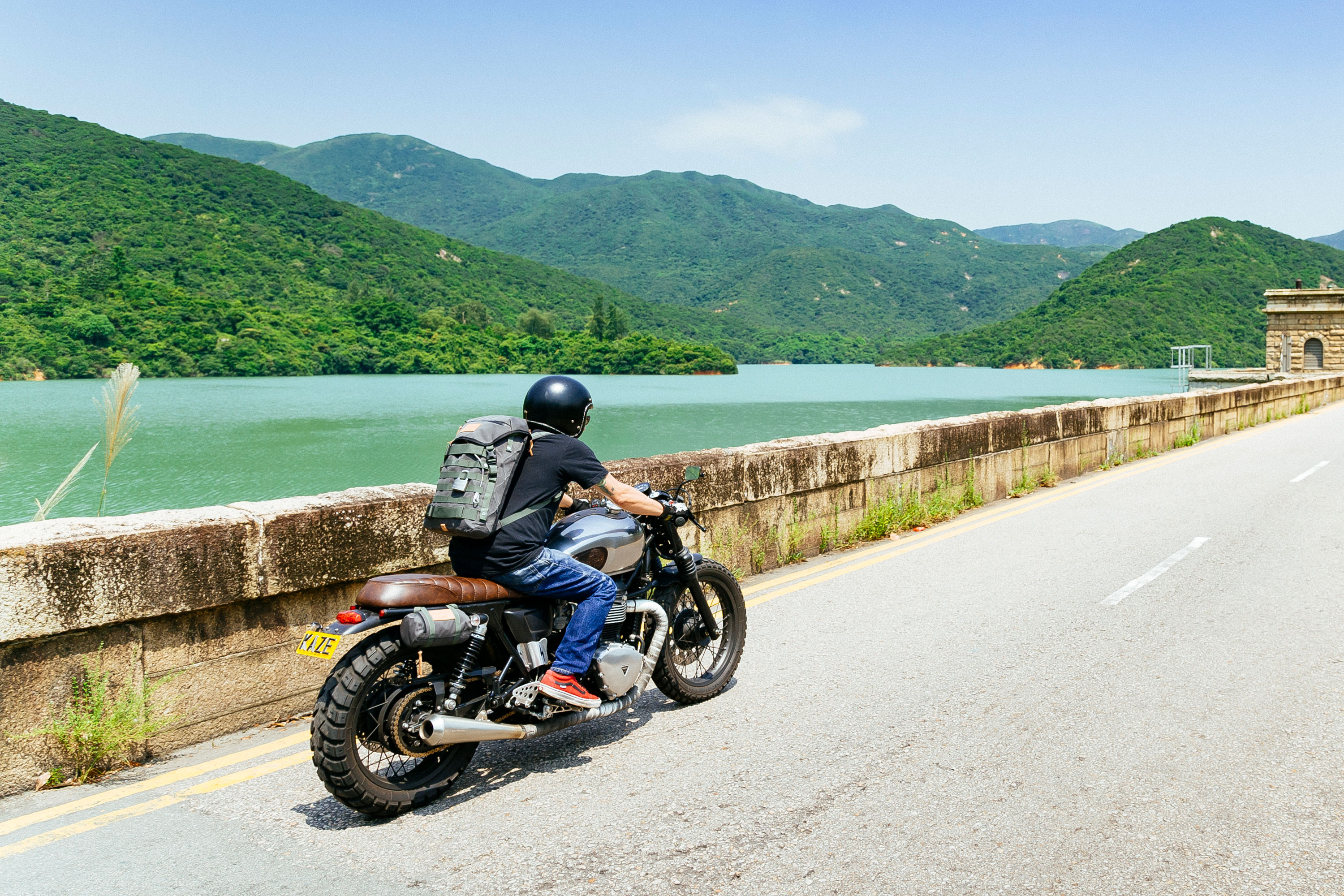 Pacsafe x Angry Lane : Anti-Theft Bags for Two-Wheel Thrill Riders