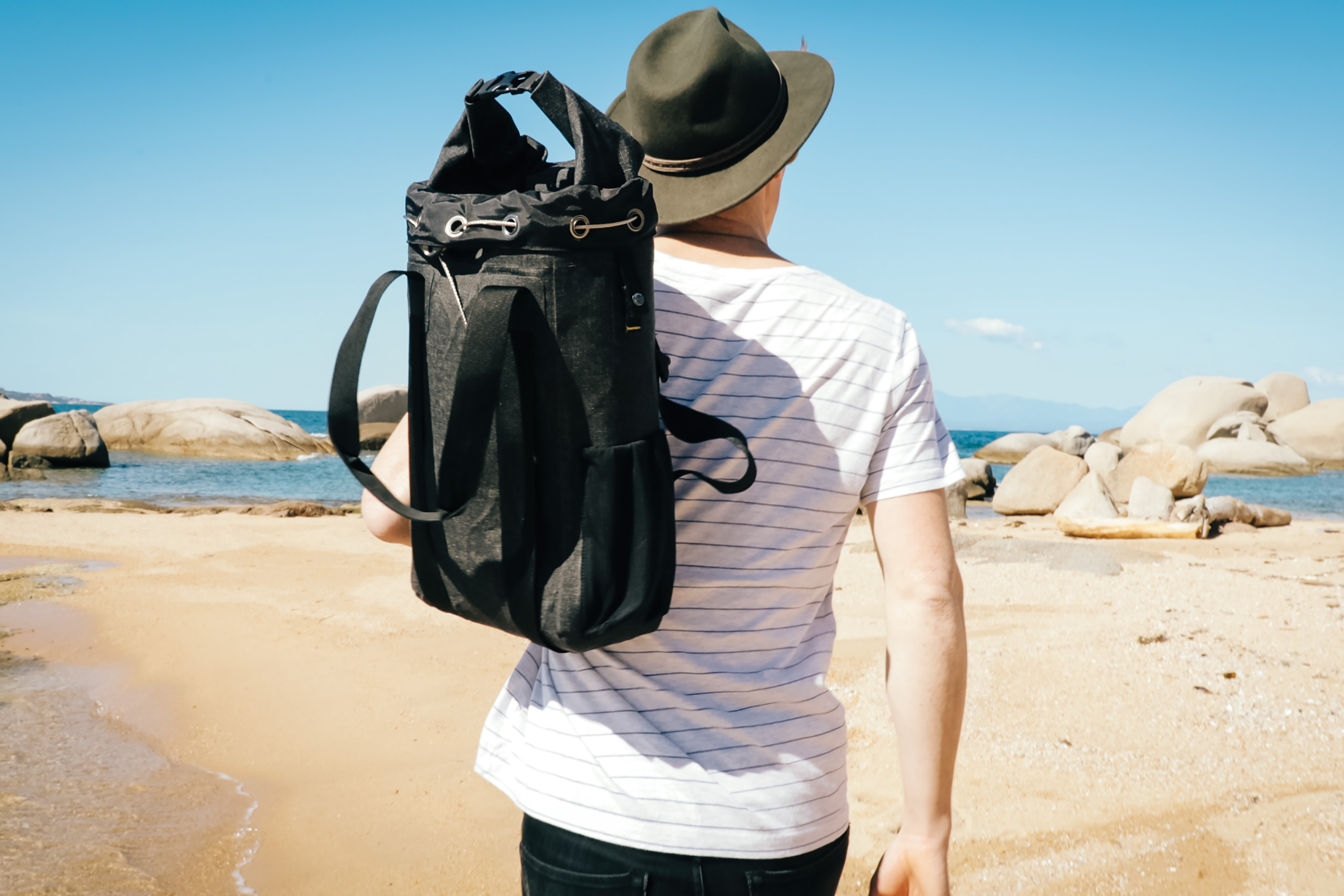 The World's First Water-Resistant, Anti-Theft Adventure Bags