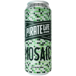 Pirate Life Mosaic