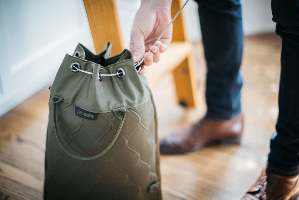 Leaving your valuables in a portable safe is a great way to prevent pickpocketing when traveling