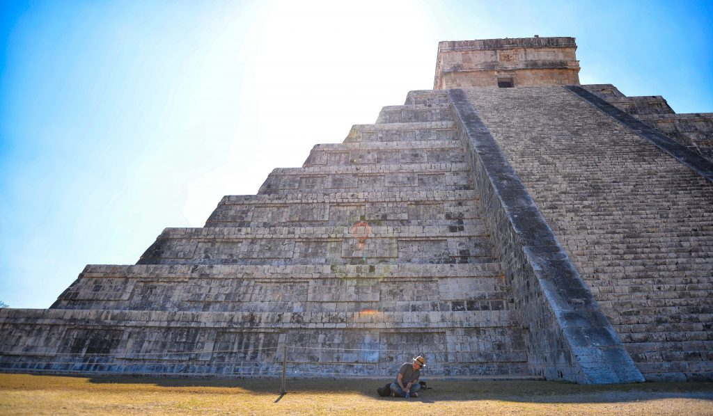 go at the right times and the mexico pyramids can be very uncrowded