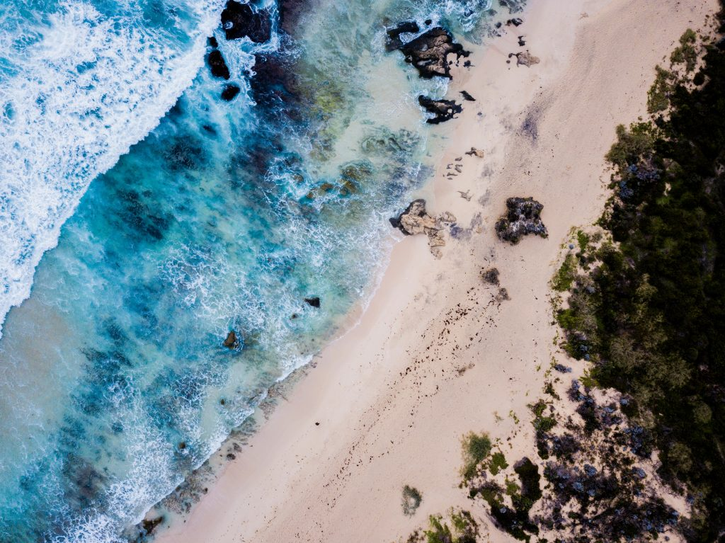 Yallingup Beach in Australia is one of the most pristine beaches in the world