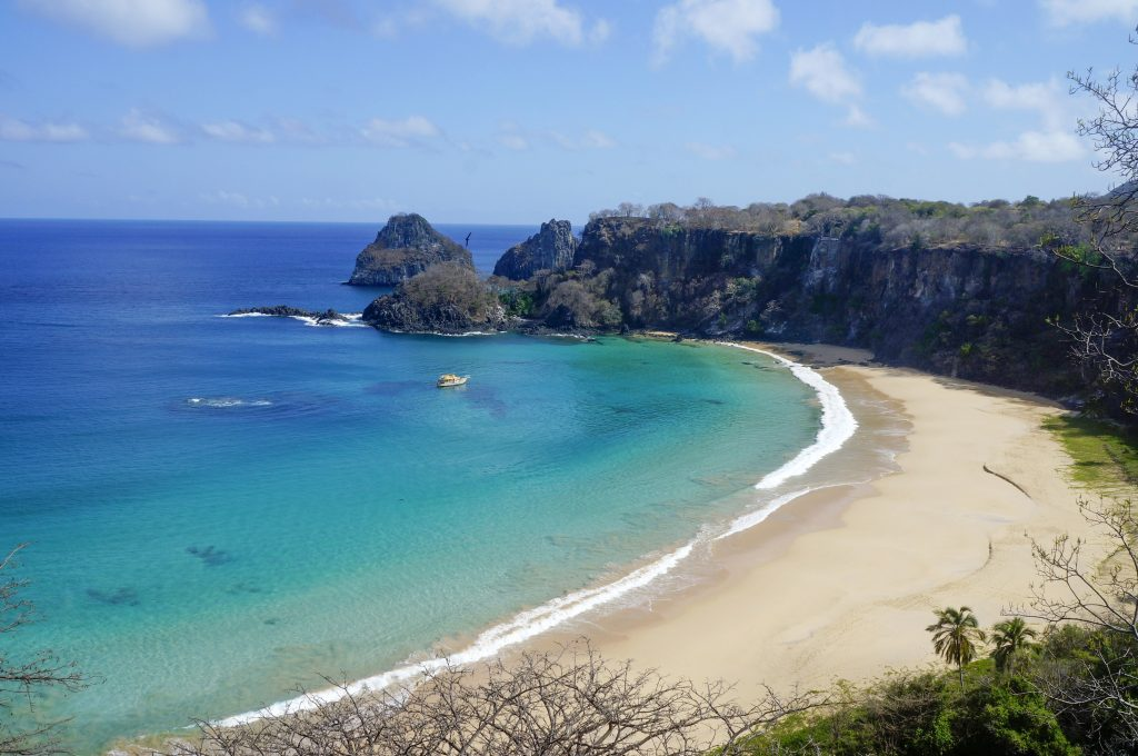 Baio Do Pancho has been voted the world's most beautiful beach