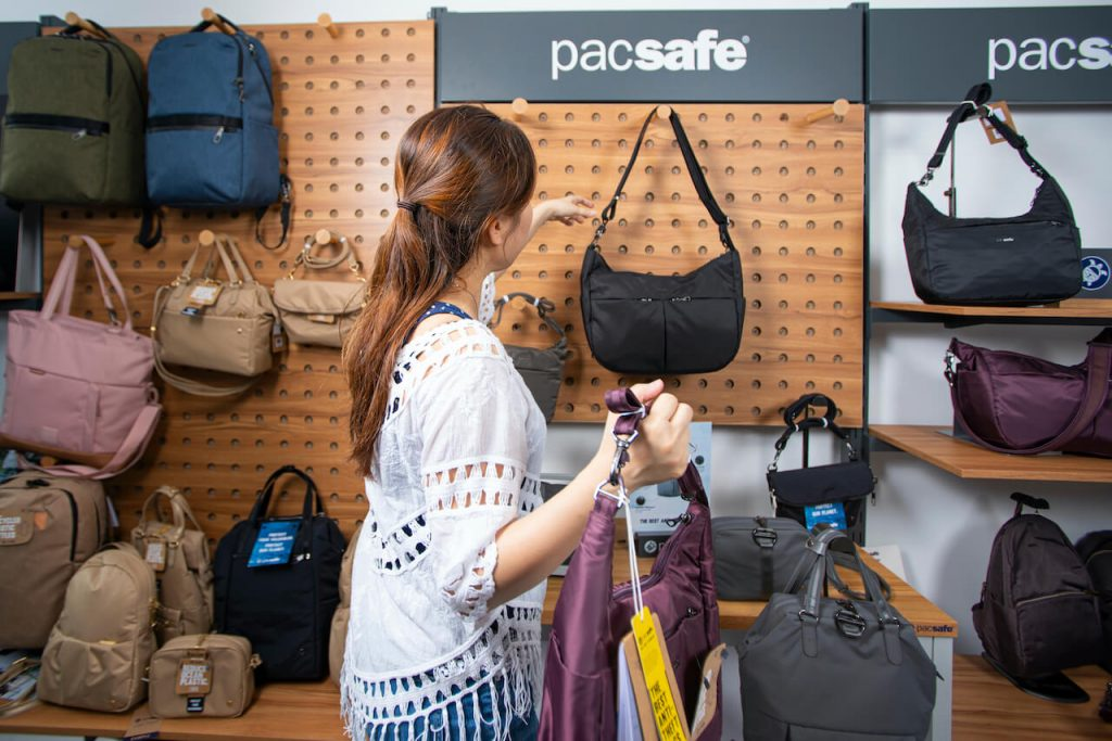 pacsafe sustainable bag